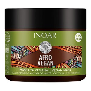 Inoar Máscara Cachos Hidratante Vegano Afro Vegan 500g
