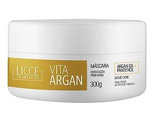 Máscara Hidratante Vita Argan Licce Cosméticos - 300ml