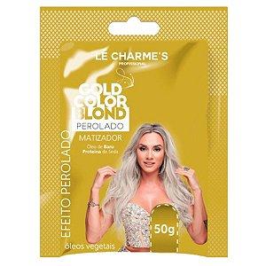 Matizador Intensy Color Gold Perolado Lé Charmes Sachê 50g