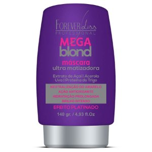 Forever Liss Matizador Mega Blond Máscara Ultra Matizadora 140g