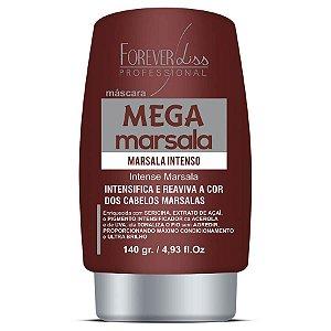 Forever Liss Matizador Mega Marsala Máscara Matizadora 140g