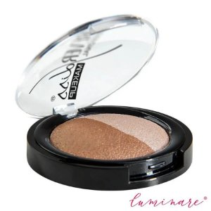 Forever Liss Sombra Duas Cores Nude e Marrom Duo Baked 2,2g