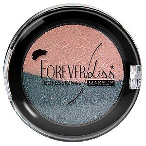 Forever Liss Sombra Duas Cores Rosa e Grafite Duo Baked 2,2g