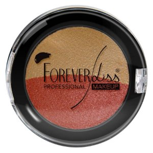 Forever Liss Sombra Terracota e Ouro Duo Baked 2,2g