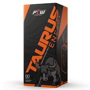 Suplemento de Taurina Taurus Energy 750mg 100% Pura - FTW