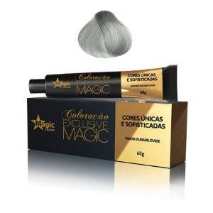 Magic Color Tintura Exclusive 10.1 Loiro Claríssimo Cinza 60g