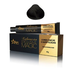 Magic Color Tintura Exclusive 3.0 Castanho Escuro 60g