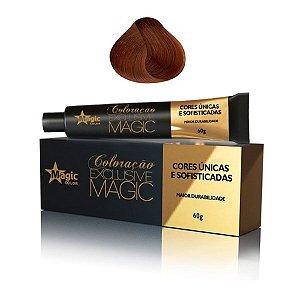 Magic Color Tintura 8.34 Loiro Claro Dourado Acobreado Exclusive Magic 60g