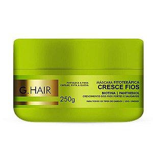 Máscara Cresce Fios G Hair 250g Crescimento Capilar