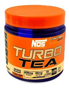 Termogênico Turbo Tea Citrus Nos Nutrition 300g