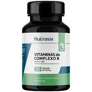 Vitamina Complexo B 100% Idr Nutrasix - 30 Cápsulas