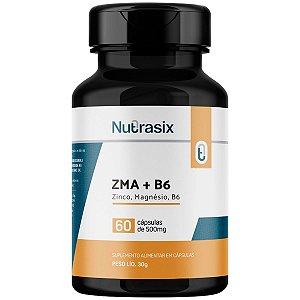 Zma + B6 500mg Nutrasix - 60 Cápsulas
