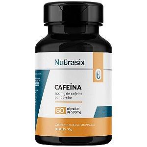 Termogênico Cafeína 500mg Nutrasix - 60 Cápsulas