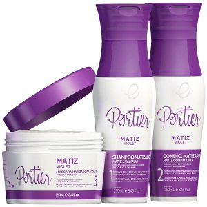 Kit Completo Matizador Color Care Violet Portier