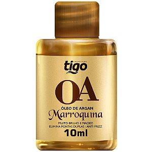 Óleo De Argan Marroquina Tigo Cosméticos 10ml