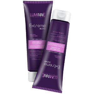 Kit Matizador Blond Shampoo + Máscara Extreme Luminne 250ml