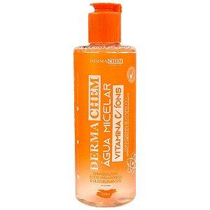 Água Micelar Demaquilante Facial Vitamina C Dermachem 250ml