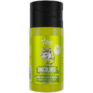 Matizador Capilar Unicolors Amarelo Neon Magic Color 150ml