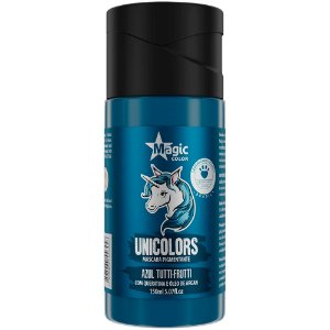 Matizador Capilar Unicolors Azul Tutti Frutti Magic Color 150ml