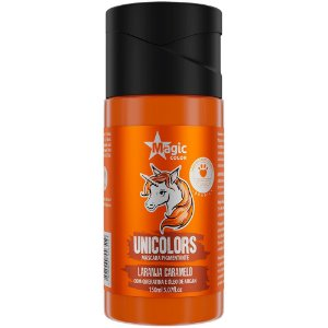 Matizador Capilar Unicolors Laranja Caramelo Magic Color 150ml