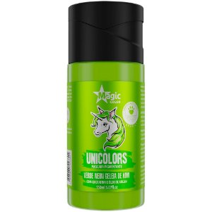 Matizador Capilar Unicolors Verde Neon Magic Color 150ml