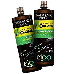 Kit Organic Eico Life Shampoo + Condicionador 1L