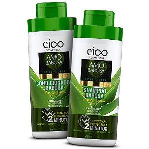 Kit Eico Shampoo + Condicionador Amo Babosa Spécialité 450ml