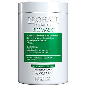 Máscara Utra Hidratante Biomask Prohall Efeito Teia 1kg
