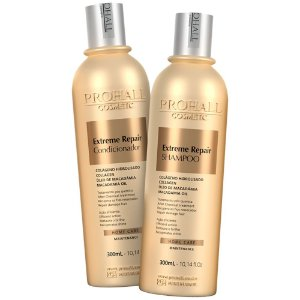 Kit Shampoo + Condicionador Extreme Repair Prohall 300ml