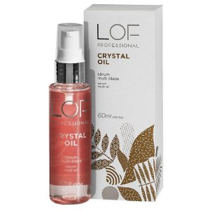 Sérum Multi Óleos Crystal Oil Lof Professional 60ml