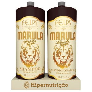 Kit Marula Duo Shampoo + Condicionador Felps 2x1000ml