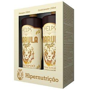 Kit Marula Duo Shampoo + Condicionador Home Care Felps