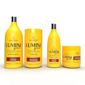Linha LUMINI GOLD - Glammour Professional