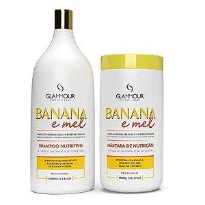 Linha Banana e Mel 2x1ml - Glammour Professional