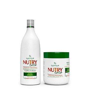 Linha Manutenção NUTRY COCO 2x500 - Glammour Professional