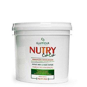 Linha NUTRY COCO MÁSCARA UMECTANTE 2Kg - Glammour Professional
