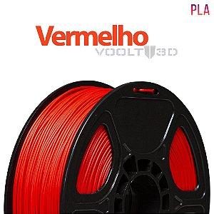 Filamento PLA Vermelho - 1 kg