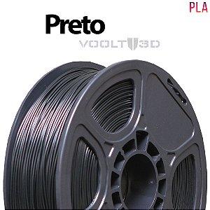 Filamento PLA Preto - 1 kg