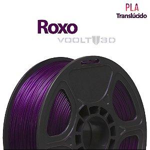 Filamento PLA Roxo Translúcido - 1 kg