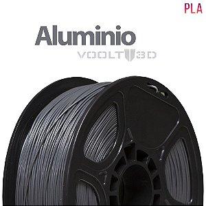 Filamento PLA Alumínio - 1 kg