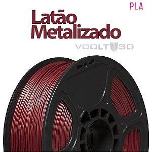 Filamento PLA Latão Metalizado - 1 kg