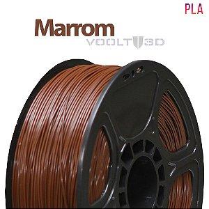 Filamento PLA Marrom - 1 kg