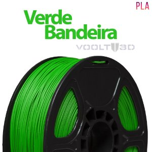 Filamento PLA Verde Bandeira- 1 kg