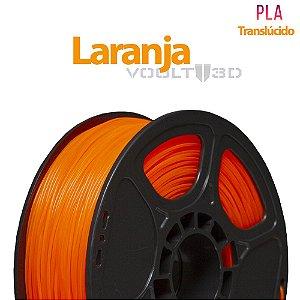Filamento PLA Laranja Translúcido - 1 kg