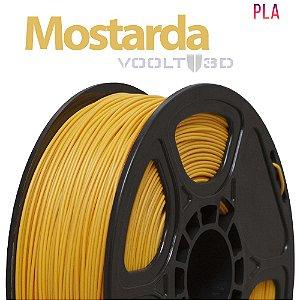 Filamento PLA Mostarda