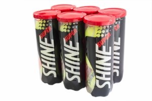 Bola de Tênis Super Shine - Pack com 6