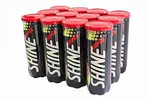 Bola de Tênis Super Shine - Pack com 12