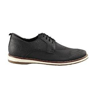 Sapato Ped Shoes Texturizado Preto