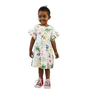 Vestido Kiki Xodó Infantil Feminino Floral