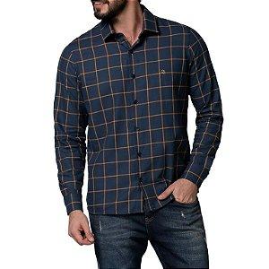 Camisa Código Zero Slim Xadrez